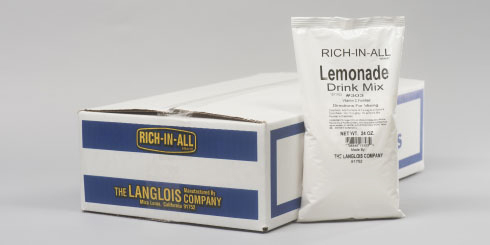 Lemonade packaging